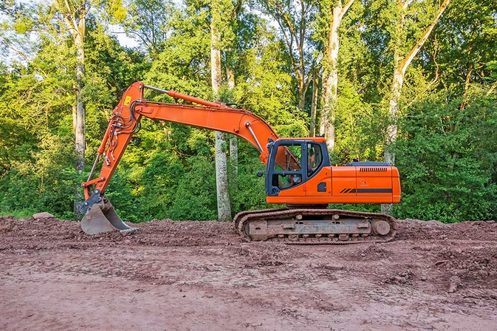 landscape excavation service